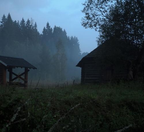 Kuum  ja udune õhtu..  2..