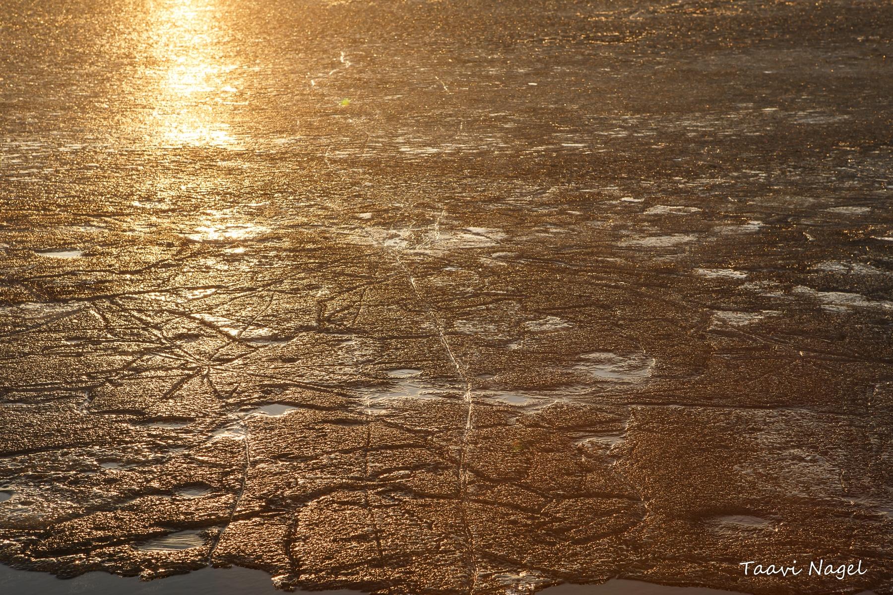 Jää hakkab vaikselt sulama 2018.10.04