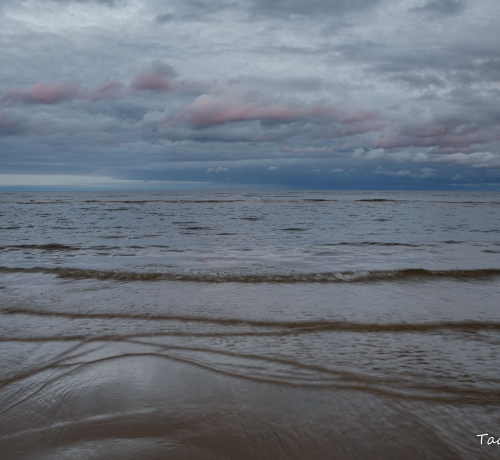 Õhtu Peipsi järve kaldal..